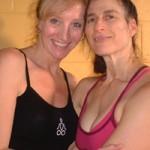 Dana Rae Paré with Ana Forrest