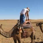 Janike Robinson in Ustrasana (on a camel) - Ashtanga Vinyasa Intermediate Series