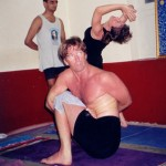 Troy Taylor in Marichyasana D - Ashtanga Vinyasa Primary Series in Mysore India