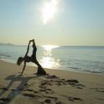 Dana Rae Paré in Vassisthasana/Visvamitrasana - Ashtanga Vinyasa Advanced A Series - Cabo San Lucas