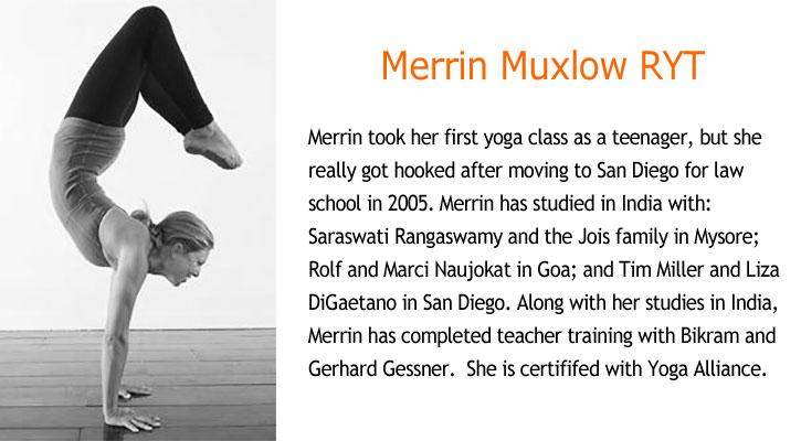 how to write a yoga teacher bio