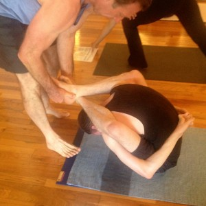 Mysore style teaching with IY Teacher Trevor Monk