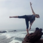 Infinite Yoga Teacher Dana Rae Pare - Ardha Chandrasana Variation