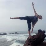 Infinite Yoga Teacher Dana Rae Pare - Ardha Chandrasana Variation