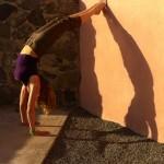 Infinite Yoga Teacher Dana Rae Pare - Supported Handstand/Shoulder Opener