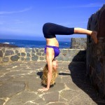 Infinite Yoga Teacher Dana Rae Pare - Handstand Prep