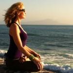 Infinite Yoga Teacher Dana Rae Pare - Padmasana