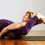 Dana Rae Paré in Yoga Nidrasana - Ashtanga Vinyasa Intermediate Series