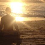Infinite Yoga Teacher Trevor Monk - Padmasana