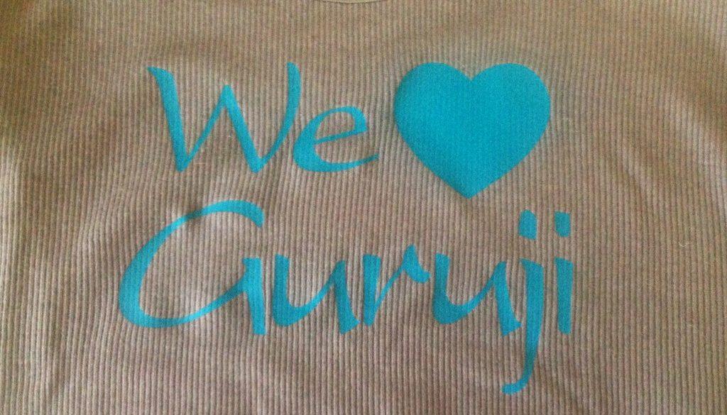 we love guruji