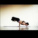 Infinite Yoga Teacher Nicole Zuelke - Padma Mayurasana