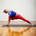 Infinite Yoga Teacher Nicole Zuelke - Parsvakonasana variation