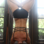 Infinite Yoga Teacher Nicole Zuelke - Sirsasana variation