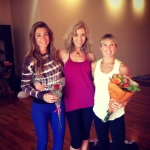 Infinite Yoga Teachers Nicole Zuelke, Dana Rae Paré and Janike Robinson