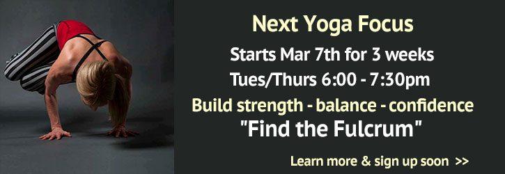Yoga Focus Workshop Series