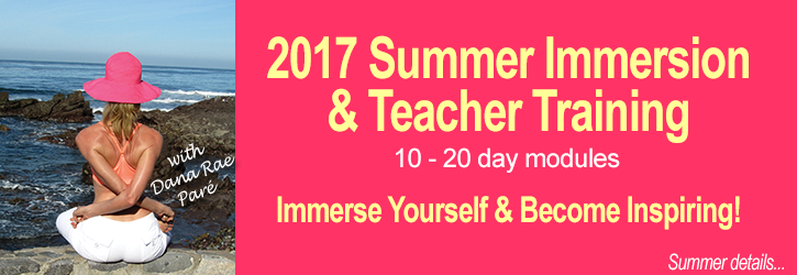 Infinite Yoga's 200hr Yoga Teacher Training and Summer Immersions with Dana Rae Paré